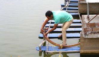 """Bà con cần áp dụng ngay kỹ thuật nuôi cá theo mô hình """"sông trong ao"""" để thu lợi nhuận cao"""